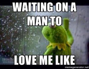 waiting on man meme